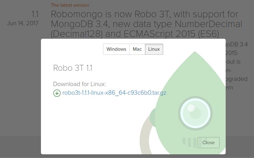 Robo 3T (Robomongo) 설치 on Ubuntu 16 04 | 커피한잔의 여유와 코딩
